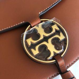 Tory Burch Miller leather saddle bag